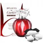 Cartier Delices de Cartier Coffret: Eau De Toilette Spray 50ml + Solid Perfume 1g/0.035oz 2pcs