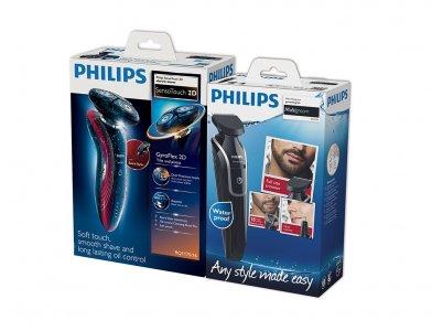En Ucuz Philips RQ 1175 Tiraş Makinesi + QG3320 Erkek Bakım Kiti - Yüz, Vücut, Burun, Kulak, Saç Kesme Makinesi Fiyatı