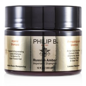 En Ucuz Philip B Russian Amber Imperial Shampoo (For Normal to Color-Treated Hair) Fiyatı