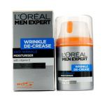 L`Oreal Men Expert Wrinkle De-Crease Anti-Expression Wrinkles Moisturising Cream 50ml