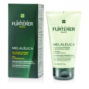 Rene Furterer Melaleuca Anti-Dandruff Shampoo (For Oily Flaking Scalp) 150ml