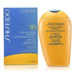 Shiseido Protective Tanning Emulsion N SPF 10 (For Face & Body) 150ml