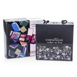 Cameleon MakeUp Kit 398: (72x Eyeshadow 2x Powder 3x Blush 8x Lipgloss 1x Mini Mascara 6x Applicator) -