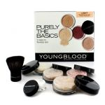 Youngblood Purely The Basics Kit - #Light (2xFoundation 1xMineral Blush 1xSetting Powder 1xBrush 1xMineral Powder) 6pcs