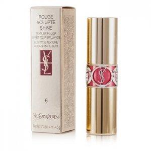 En Ucuz Yves Saint Laurent Rouge Volupte Shine - # 6 Pink In Devotion 4. Fiyatı