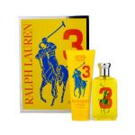 Ralph Lauren Big Pony Collection #3 Yellow Coffret: Eau De Toilette Spray 100ml + Hydrating Body Lotion 200ml 2pcs