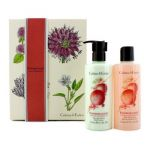 Crabtree & Evelyn Pomegranate Argan & Grapeseed Perfect Pair: Bath & Shower Gel 250ml + Body Lotion 250ml 2pcs