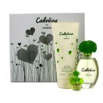 Gres Cabotine Coffret: Eau De Toilette Spray 100ml + Body Lotion 200ml + Miniature (Hearts Box) 3pcs