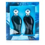 Giorgio Beverly Hills Wings Coffret: Eau De Toilette Spray 100ml + After Shave 100ml 2pcs