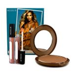 ModelCo Glow Baby Glow (1x Glow Summer Bronze Powder 2x Shine Ultra Lip Gloss) 3pcs