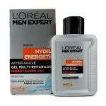 L`Oreal Men Expert Hydra Energetic After Shave Multi-Repairing 24H Hydration Gel 100ml