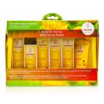Weleda Baby On-The-Go Travel Kit: Body Wash 20ml+Face Cream 10ml+Body Cream 10ml+Baby Oil 10ml... 6pcs+1bag