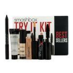 Smashbox Try It Kit (1x Foundation Primer 1x Lid Primer 1x Eye Liner 1x Mascara 1x Lip Gloss) 5pcs
