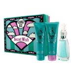 Anna Sui Secret Wish Coffret: Eau De Toilette Spray 50ml + Body Lotion 90ml + Shower Gel 90ml 3pcs