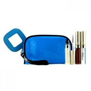 En Ucuz Kanebo Lip Gloss Set With Blue Cosmetic Bag (3xMode Gloss 1xCosmetic Bag) 3pcs+1bag Fiyatı