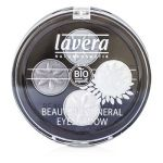 Lavera Beautiful Mineral Eyeshadow Quattro - # 01 Smoky Grey 4x0.8g/0.026oz