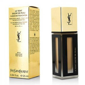 Yves Saint Laurent Le Teint Encre De Peau Fusion Ink Foundation SPF18 - # BR30 Beige Rose 25ml
