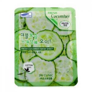 En Ucuz 3W Clinic Mask Sheet - Fresh Cucumber 10 adet Fiyatı