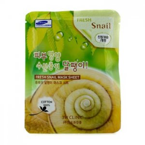 En Ucuz 3W Clinic Mask Sheet - Fresh Snail 10 adet Fiyatı