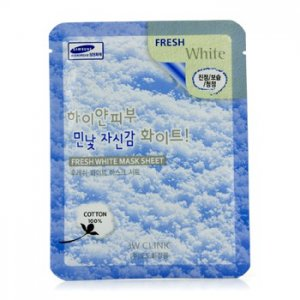 3W Clinic Mask Sheet - Fresh White 10 adet